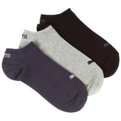 3PACK Ponožky Puma Sneaker Navy Grey Nightshadow Blue