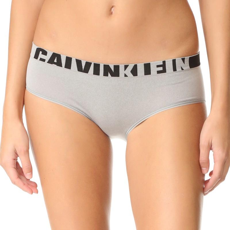 Dámské Kalhotky Calvin Klein Hipster Seamless Grey