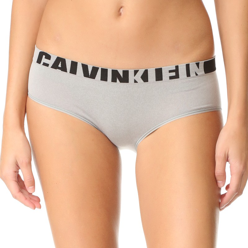 Dámské kalhotky Calvin Klein seamless hipster šedé S