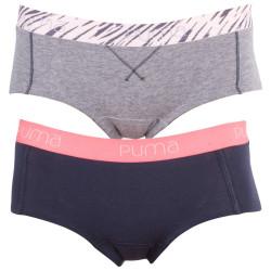 2Pack Dámské Kalhotky Puma Mini Short Veiled Rose