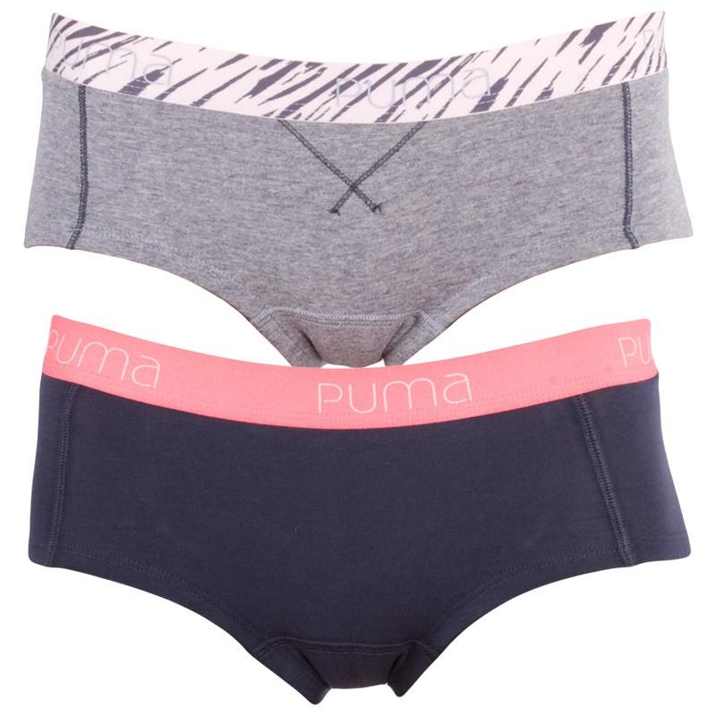2Pack Dámské Kalhotky Puma Mini Short Veiled Rose S
