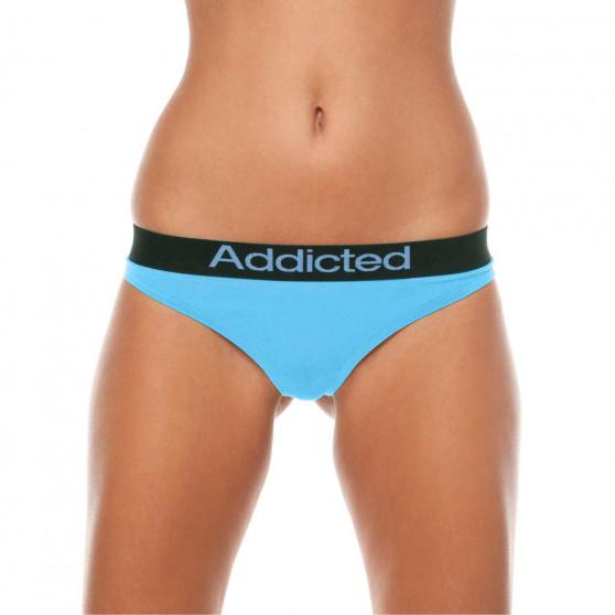 2pack dámská tanga Addicted modrá bílá
