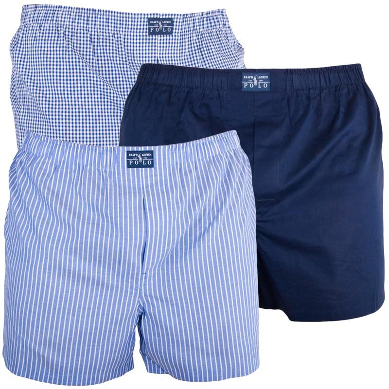 Pánské Trenýrky Polo Ralph Lauren Blue Edition S