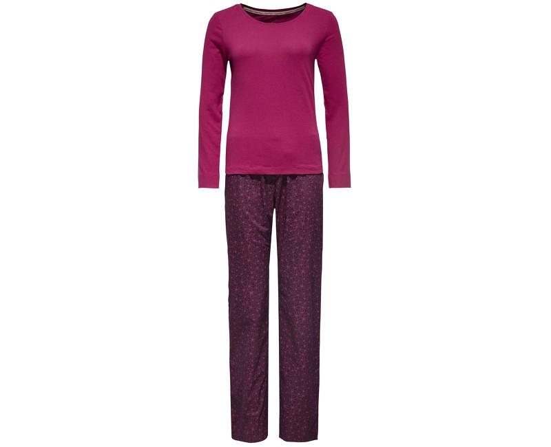 Dámské pyžamo Calvin Klein fialové v dárkovém balení XS