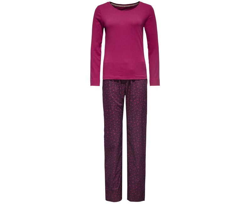 Dámské Pyžamo Calvin Klein PJ In A Bag Purple XS