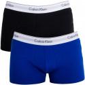 2PACK Pánské Boxerky Calvin Klein Modern Cotton Trunk Black Blue