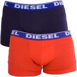 2PACK Pánské Boxerky Diesel Trunk Fresh&Bright Neon Orange Purple