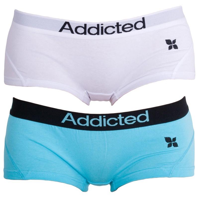 2PACK Dámské Kalhotky Addict