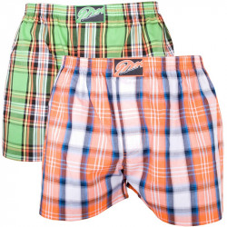 2PACK Pánské Trenýrky Styx Classic Orangino