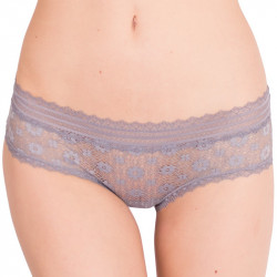 Dámské kalhotky Victoria's Secret hiphugger šedé