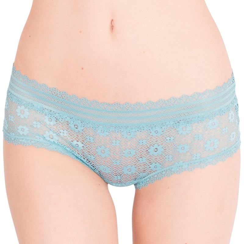 Dámské kalhotky Victoria's Secret hiphugger modré S