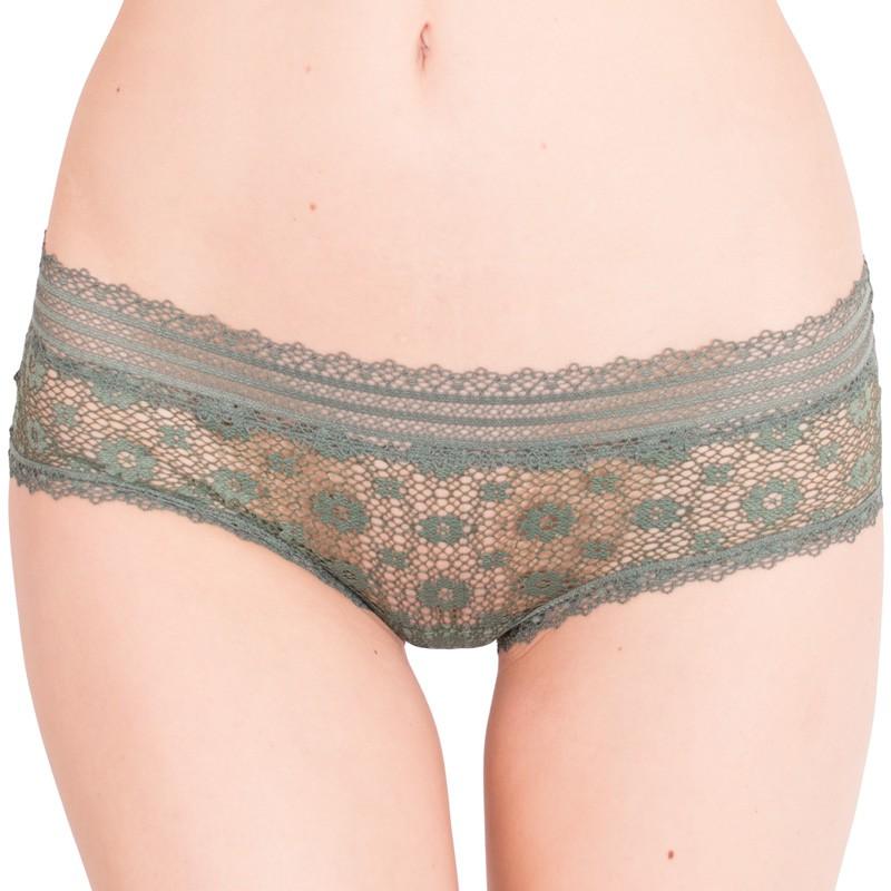 Dámské kalhotky Victoria's Secret hiphugger khaki S