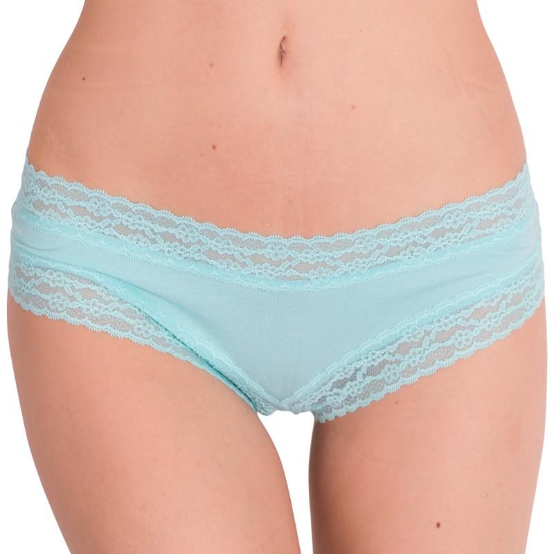 Dámské kalhotky Victoria's Secret cheeky aqua splash