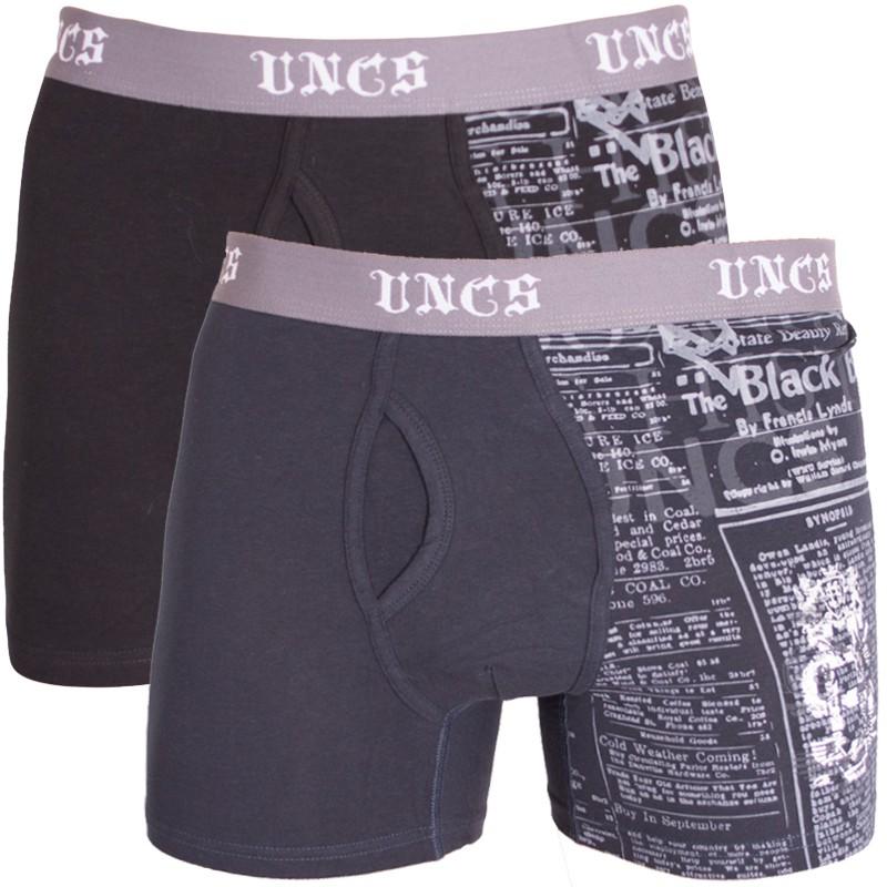 2PACK pánské boxerky UNCS Angelo M