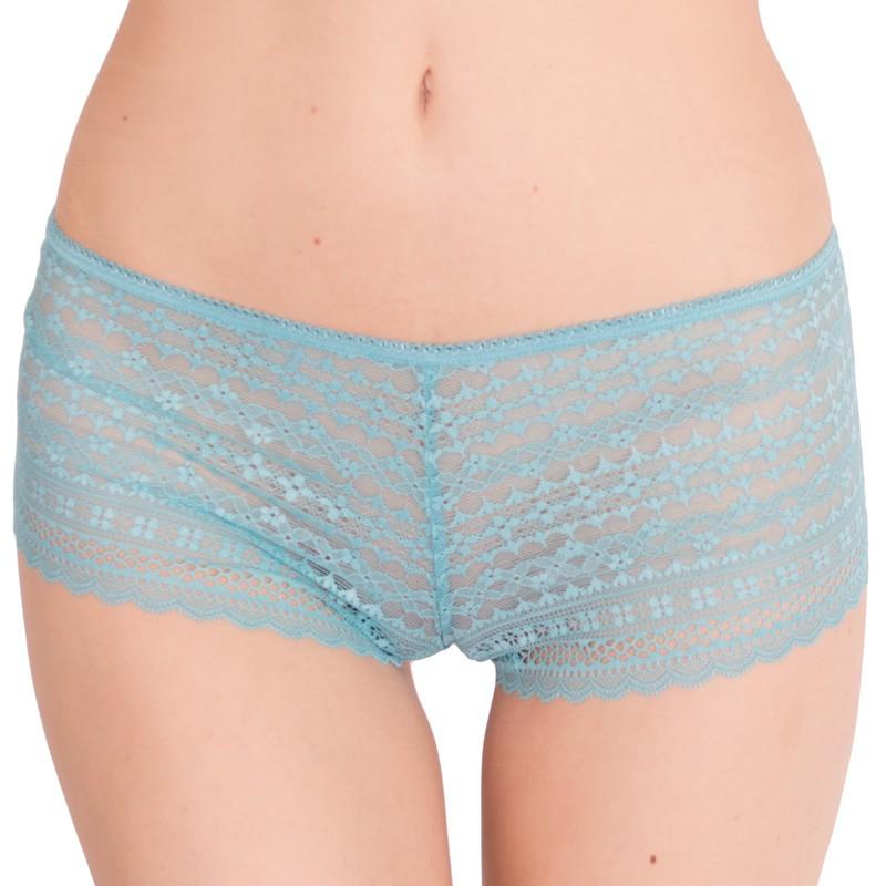 Dámské kalhotky Victoria's Secret shortie modré S
