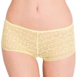 Dámské kalhotky Victoria's Secret shortie žluté