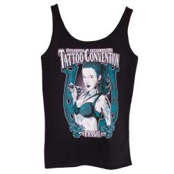 Dámské tílko Tattoo Convention bílé