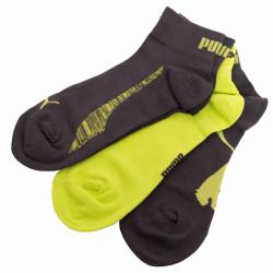 3PACK ponožky Puma quarter lime