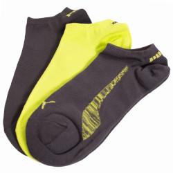 3PACK ponožky Puma Sneaker lime