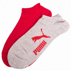 2PACK ponožky Puma light grey melange