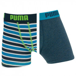 2PACK chlapecké boxerky Puma blue danube