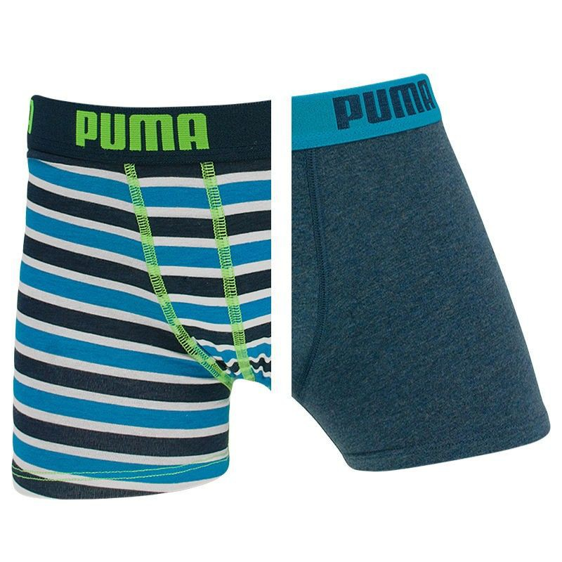 2PACK chlapecké boxerky Puma blue danube 140