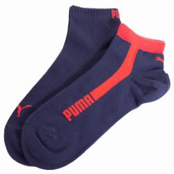 2PACK ponožky Puma quarter red blue