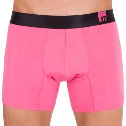 Pánské boxerky Mosmann Australia long boxer mode calypso pink