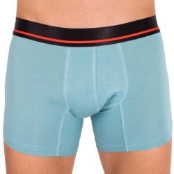 Pánské boxerky Mosmann Australia long boxer classic nile blue