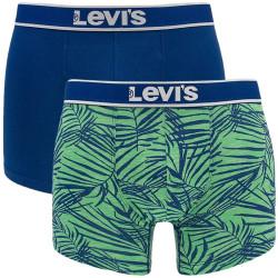 2PACK pánské boxerky Levis sodalite blue