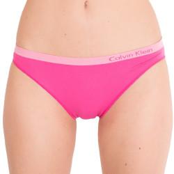Dámské bezešvé kalhotky Calvin Klein pure seamless bikini růžové