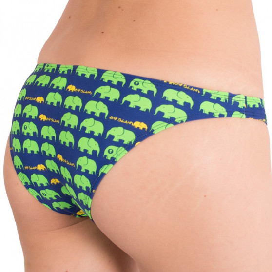 Dámské plavky 69SLAM kalhotky elephant green