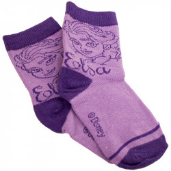 Ponožky Disney Frozen Elsa fialové