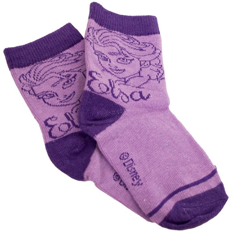 Ponožky Disney Frozen Elsa fialové 31/34