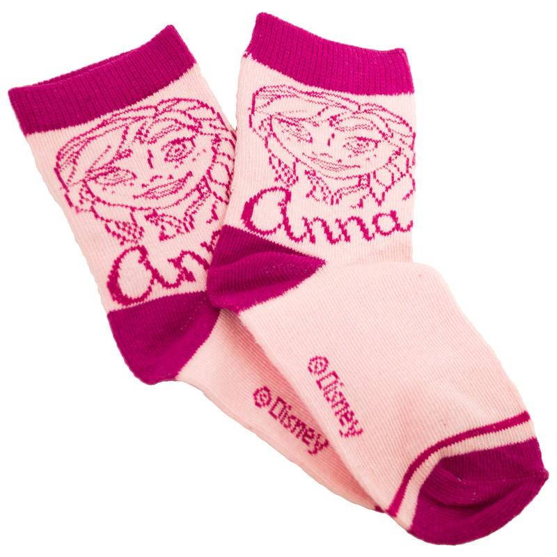 Ponožky Disney Frozen Anna růžové 31/34