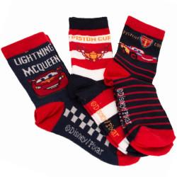 3PACK ponožky Disney Cars MC Queen