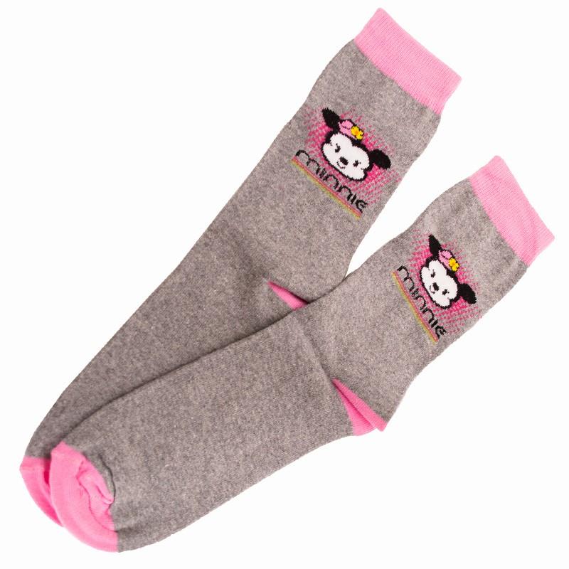 Ponožky Disney Minnie šedé S
