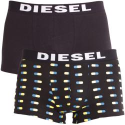 2PACK pánské boxerky Diesel černé pilulky