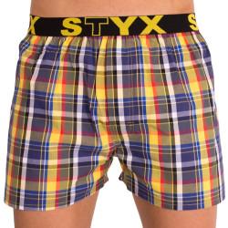 Pánské trenky Styx sportovní guma vícebarevné (B614)