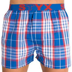 Pánské trenýrky STYX sport barevná kostka
