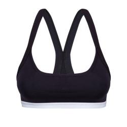 Dámská sportovní podprsenka Mosmann Australia active crop top solid black
