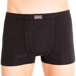 Pánské boxerky Gino bambusové černé (73032)