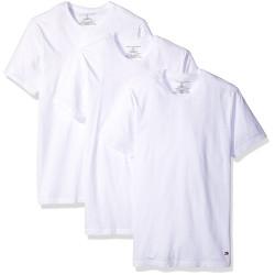 3PACK pánské tričko Tommy Hilfiger cn tee ss crew neck bílé