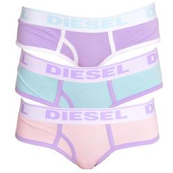 3PACK dámské kalhotky Diesel oxy panties pastelové