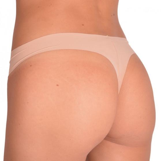 Dámská bezešvá tanga Calvin Klein icon tailored tělová