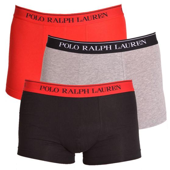 3PACK pánské boxerky Ralph Lauren barevné