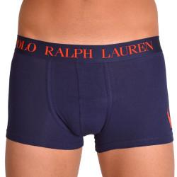 Pánské boxerky Ralph Lauren tmavě modré s červeným logem