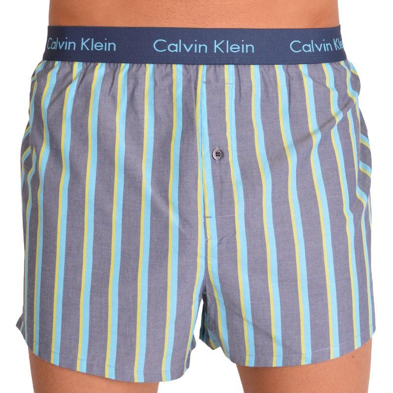 Pánské trenýrky Calvin Klein slim fit pruhované XL