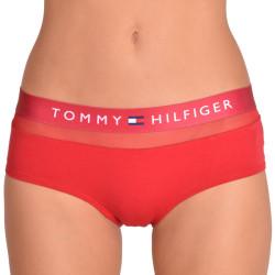 Dámské kalhotky shorty Tommy Hilfiger červené
