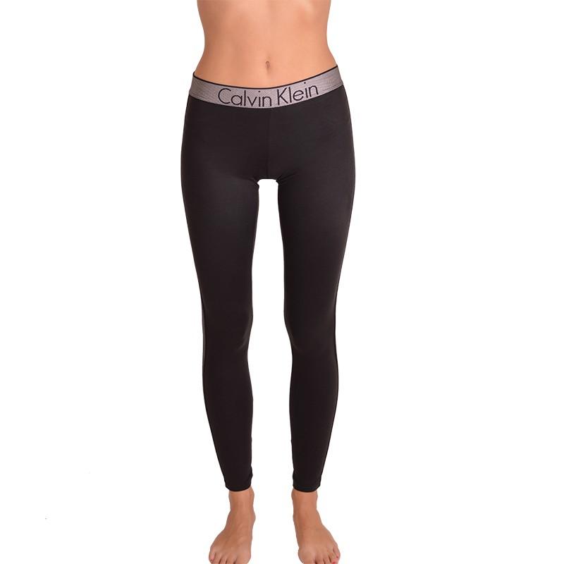 Dámské legíny Calvin Klein customized stretch černé